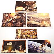 表紙:『リンドバーグ』『アームストロング』ポストカード6枚セット